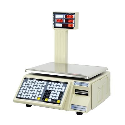 大华tm-f电子秤条码秤打印不干胶标签秤水果超市收银秤称重一体机